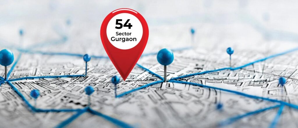 Location DLF The Crest Sector 54